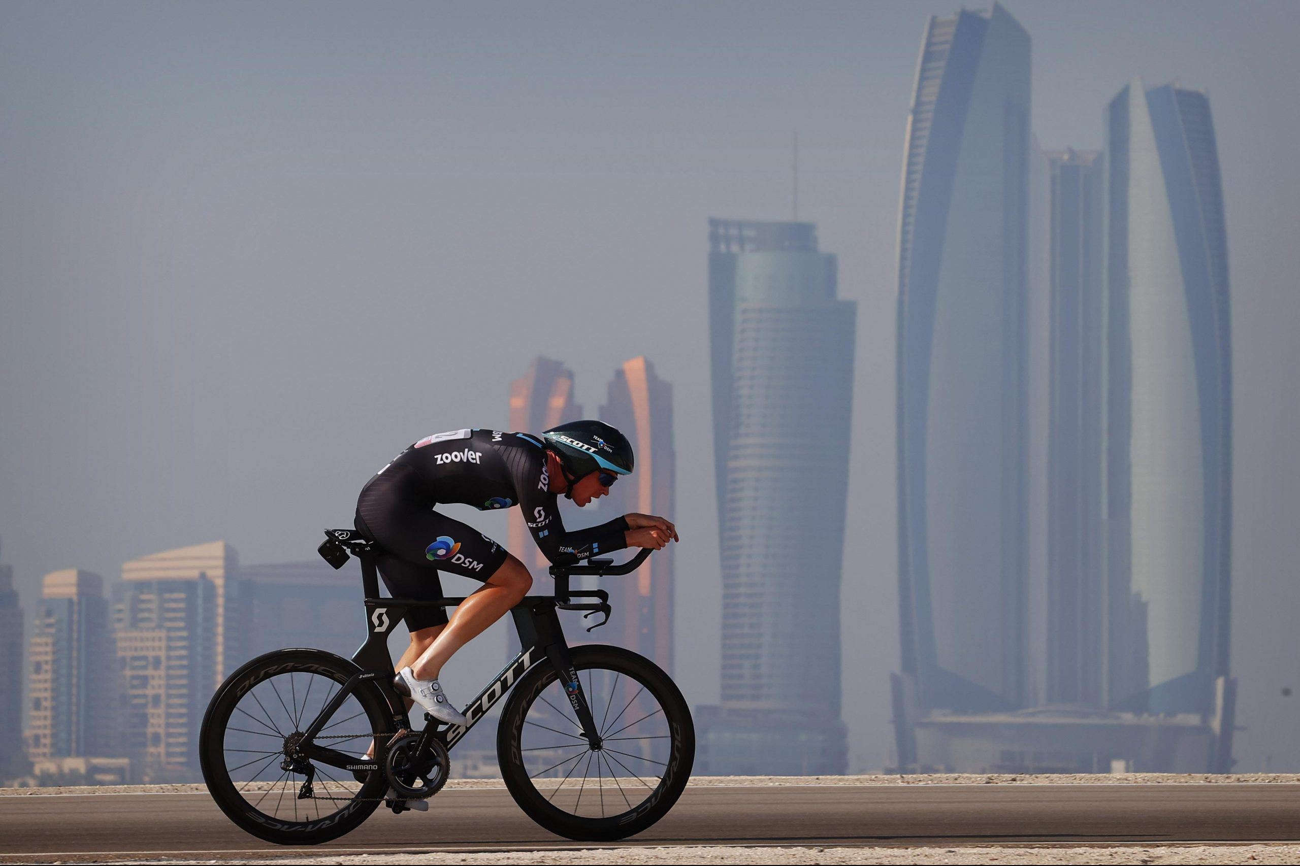 Fiercely fast and flat TT at UAE Tour | Team DSM