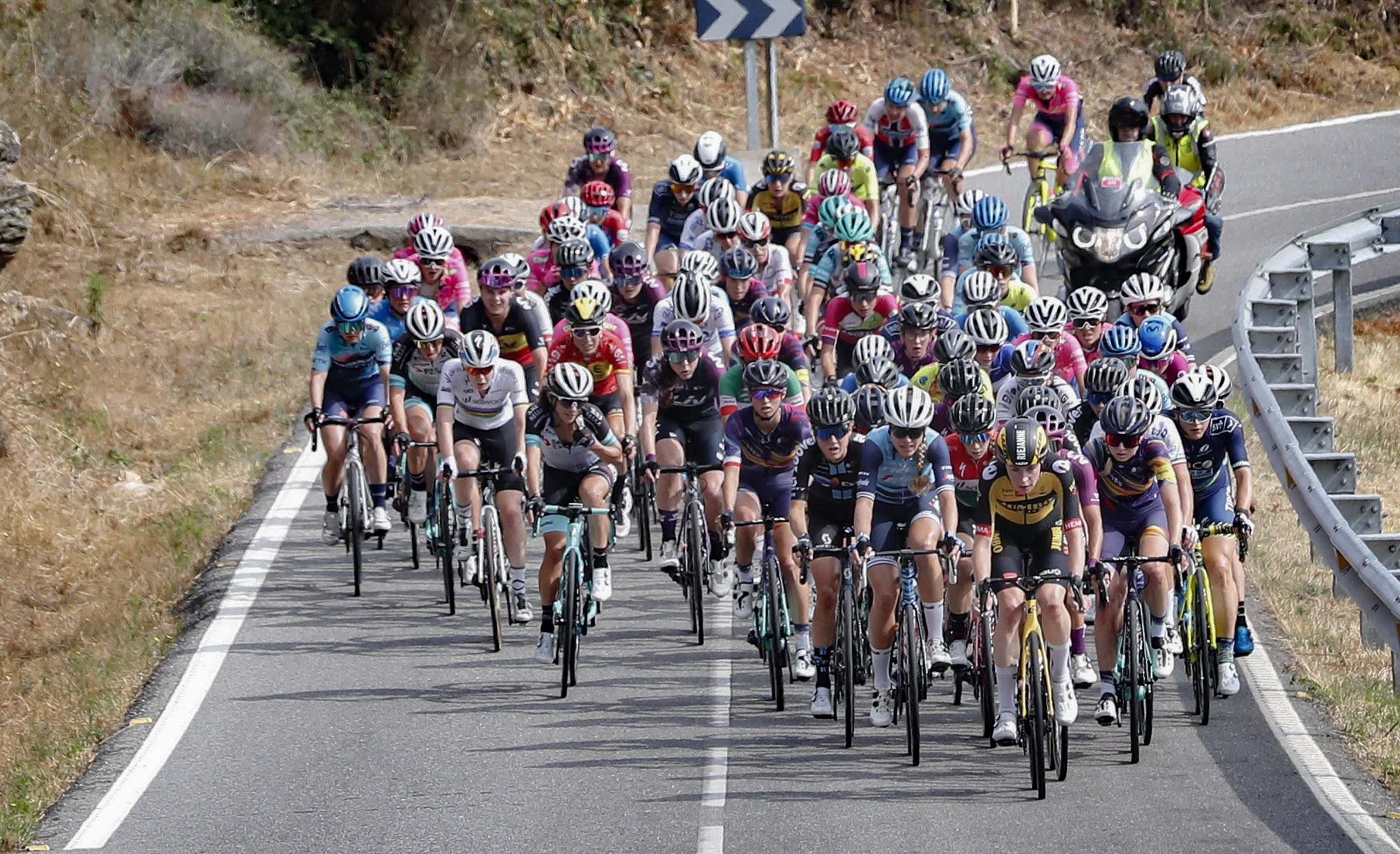 Liane Lippert and Floortje Mackaij take 2nd and 5th after all-out racing in Spain